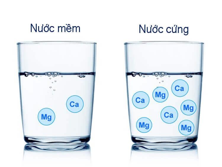 Nguyên nhân chính gây cáu cặn là độ cứng của nước