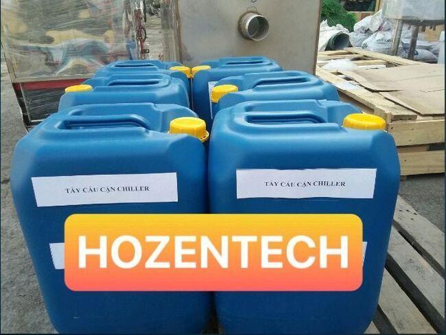 Hoá chất HZT-CB01 được sử dụng nhiều trong công nghiệp vệ sinh