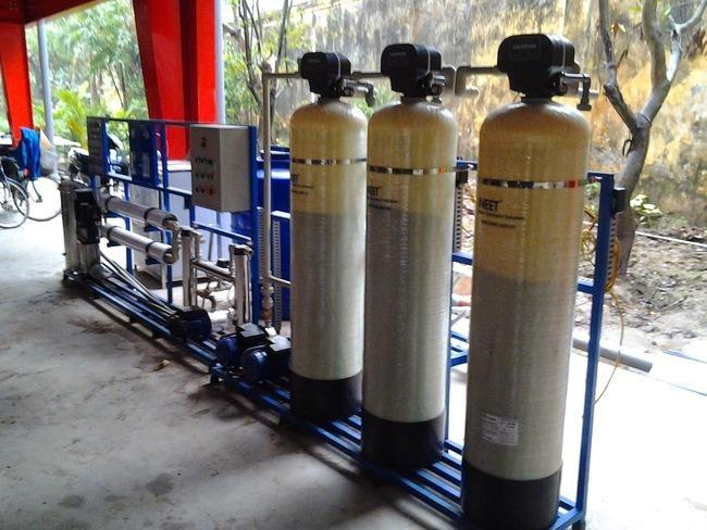 Xử lý nước trước khi đưa vào sản xuất là khâu quan trọng