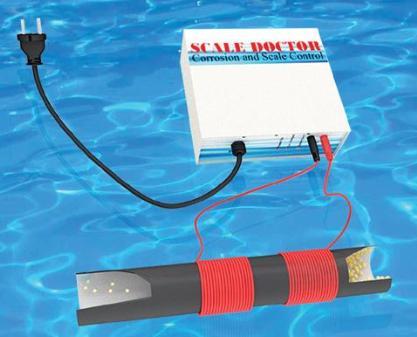 Thiết bị xử lý cáu cặn và rỉ sét cho lò hơi - Scale Doctor