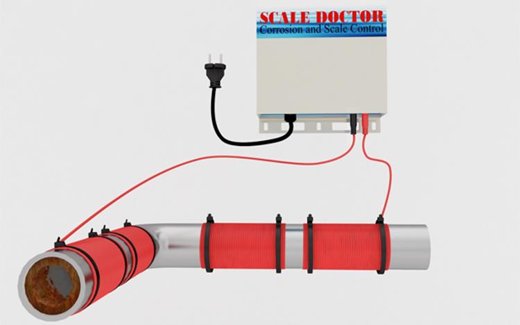 Lồng thu gom cáu cặn trên thiết bị - Scale Doctor thế hệ mới
